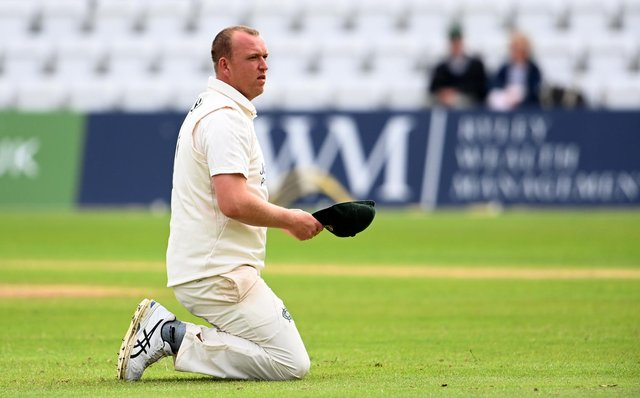 Bulwell's Luke Fletcher has 46 County Championship wickets to his name this season. (Photo by Ross Kinnaird/Getty Images)