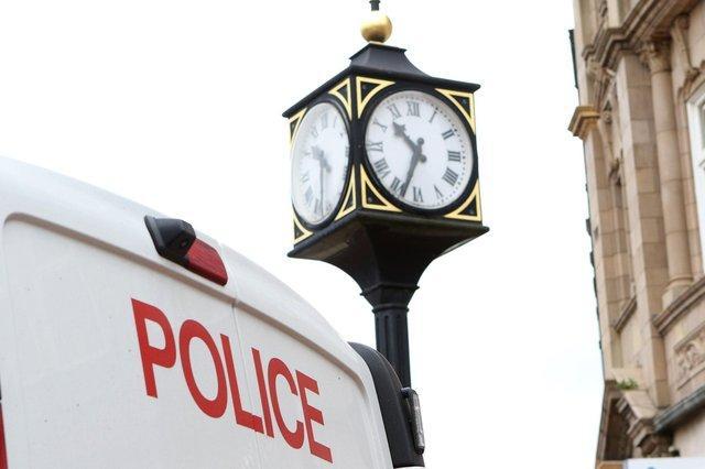 Worksop's Trader Clock.