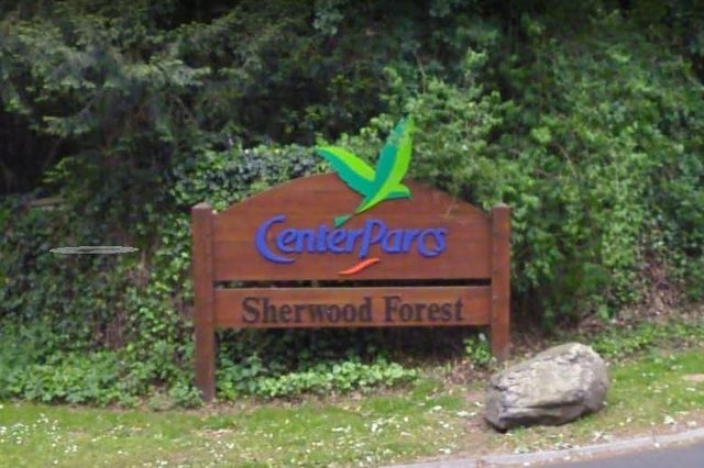 Center Parcs Sherwood Forest has donated 2,000 packs of tea and coffee to Bluebell Wood Children's Hospice. Photo: Google Earth