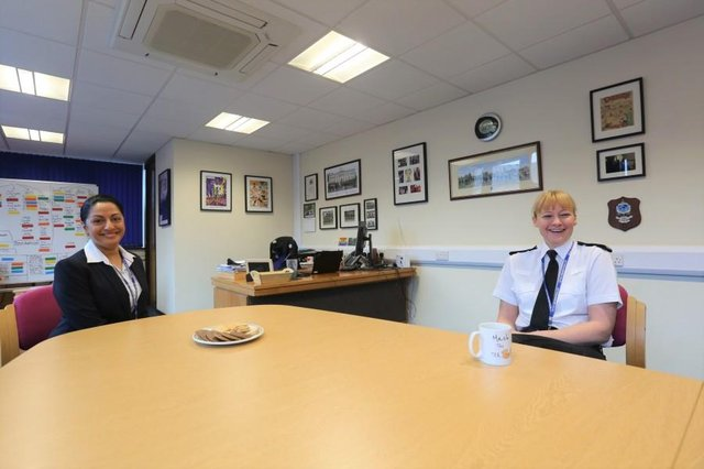 PC Harminder Rai-Mottram and Deputy Chief Constable Rachel Barber say there has never been a better time for women to join the police