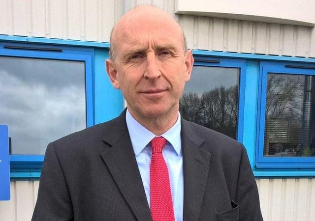 John Healey MP.