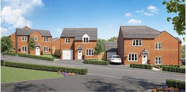 Construction is due to start on the two, three and four bedroomed homes this year.