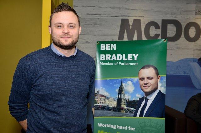 New county council leader Ben Bradley