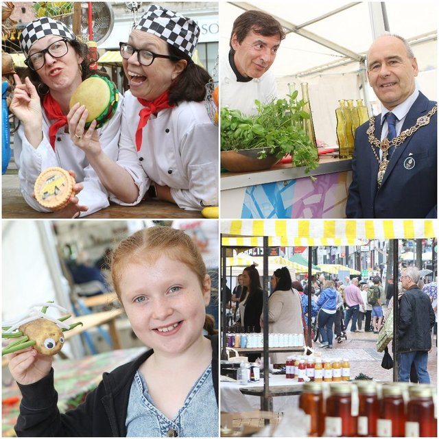 The North Notts FoodFest in Worksop has been hailed a success.