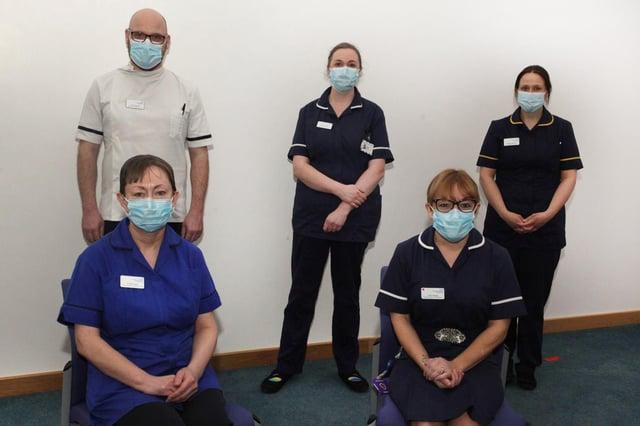The new Holistic Care Team.