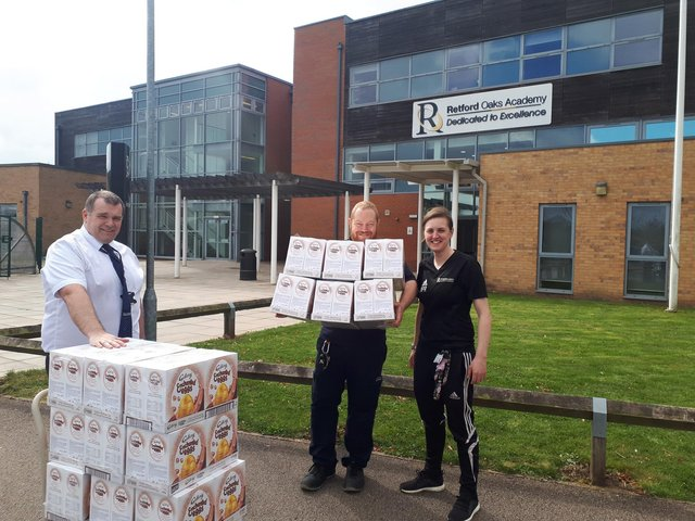 Worksop Based Retailer Wilko Helps Deliver Over 1 000 Easter Eggs To Children Of Key Workers Worksop Guardian