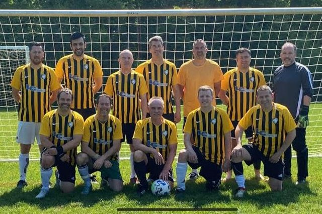 Ohio side Hudson FC proudly wearing Tigers' stripes.