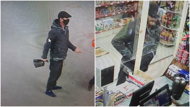 Police have released CCTV images in connection with the investigation.