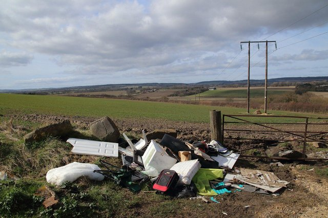 Some 'man in van' ads on social media offering to dispose of waste may end up in fly-tipping.