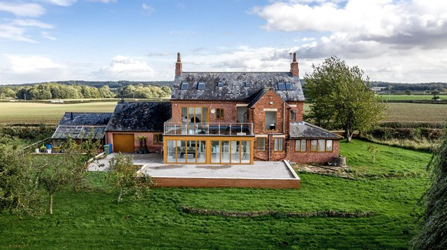 The beautiful family property, or private land, has six bedrooms