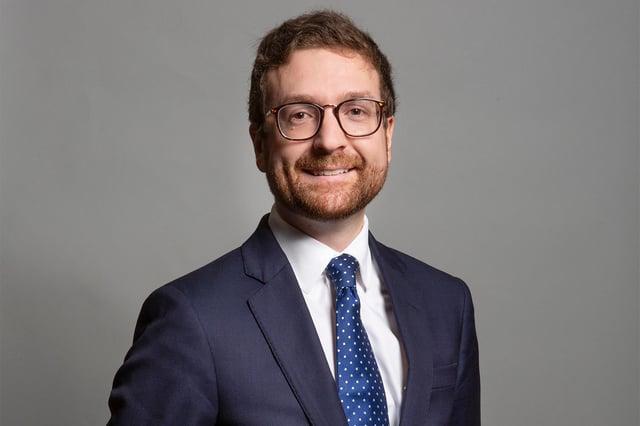 Alexander Stafford, Rother Valley MP. Photo: London Portrait Photographer-DAV