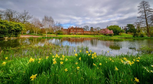 Hodsock Priory is looking stunning in spring.