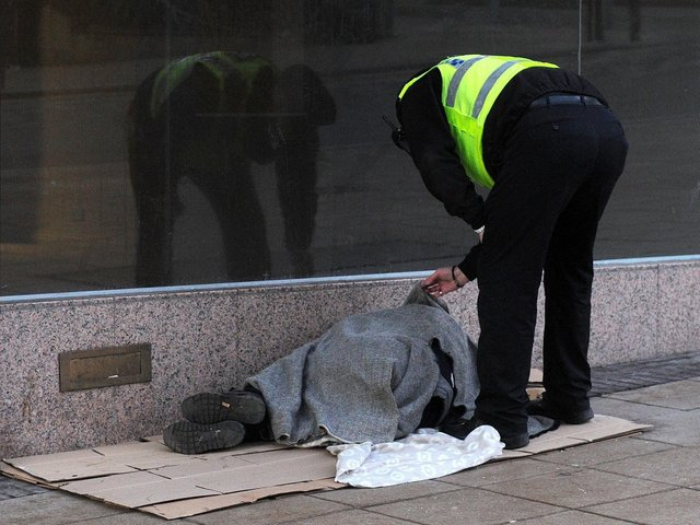 The charity has been set up to help the homeless.