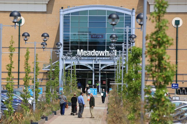 Meadowhall's flood barriers are going up with heavy rain forecast to batter Sheffield