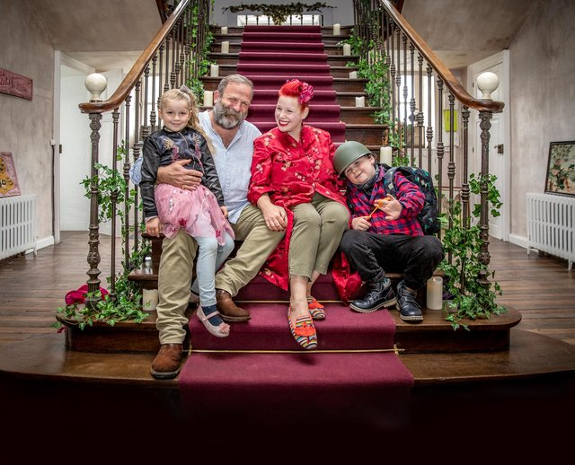 See Dick and Angel Strawbridge in their live touring show Dare To Do It.