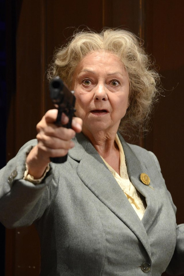 See Middle Ground Theatre Company's production of A Murder Is Announced