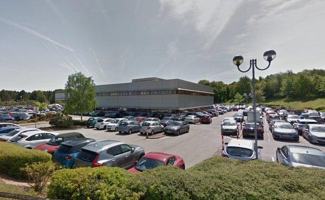 The Wilko distribution centre in Worksop.