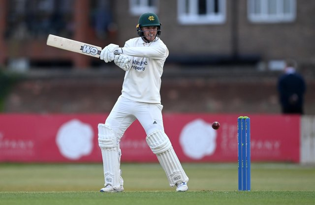 Ben Slater hit a half century on the opening day. (Photo by Gareth Copley/Getty Images)