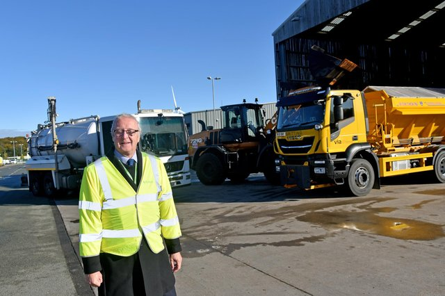 Councillor John Cottee has been carrying out checks to ensure Nottinghamshire County Council services are well prepared for winter weather conditions.