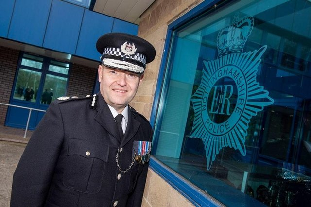 Chief Constable Craig Guildford has been awarded the Queen's Police Medal