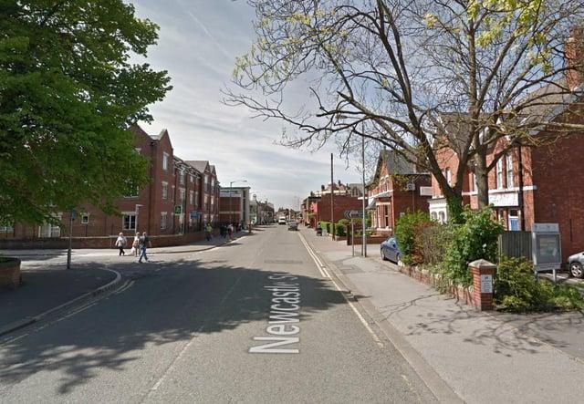 Newcastle Street, Worksop.