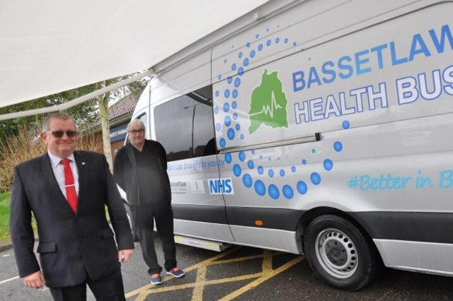 Dr Eric Kelly, chair of Bassetlaw CCG and partner at Riverside Surgery and Councillor Steve Scotthorne, cabinet member for Housing at Bassetlaw District Council.
