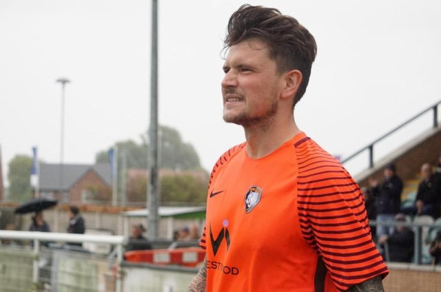Tributes have been paid to Andy Francis, pictured in action for Worksop Town. (Picture: Lewis Pickersgill Photography)