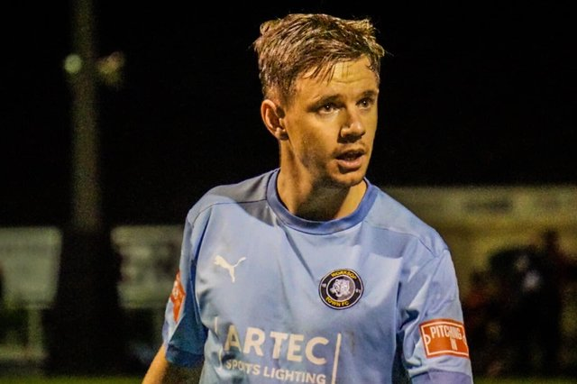 James Baxendale has been made player-coach at Worksop Town. Pic by Lewis Pickersgill.