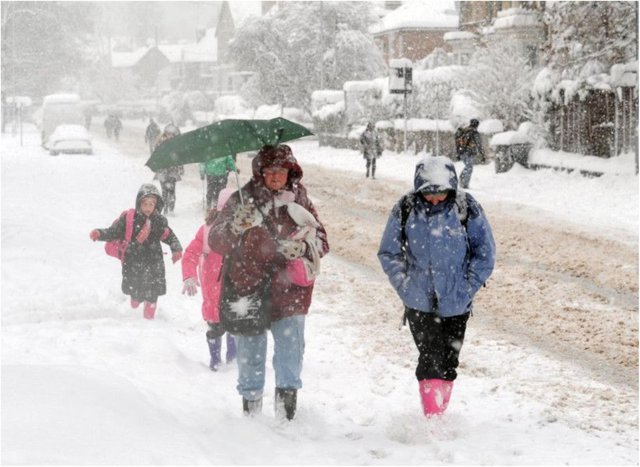 Snow is forecast for Nottinghamshire, with a weather warning in place across three days