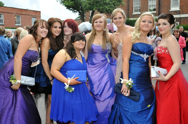 Outwood Academy Valley prom night at the West Retford Hotel, in 2009. Spot any familiar faces?