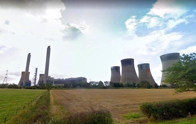 West Burton power station near Retford.