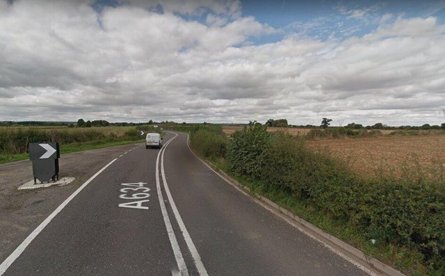 The crash happened on the A634 between Oldcotes and Blyth.