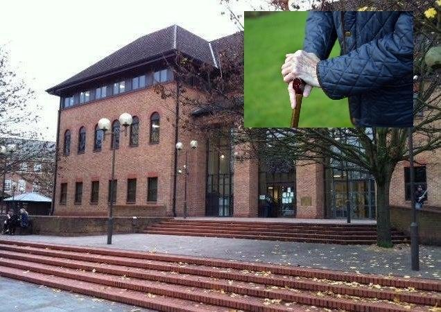 """Marjorie Bosworth told Derby Crown Court today """"you cannot imagine the terror we felt""""."""