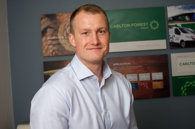 Pictured is Graham White, group commercial director at Carlton Forest Group.