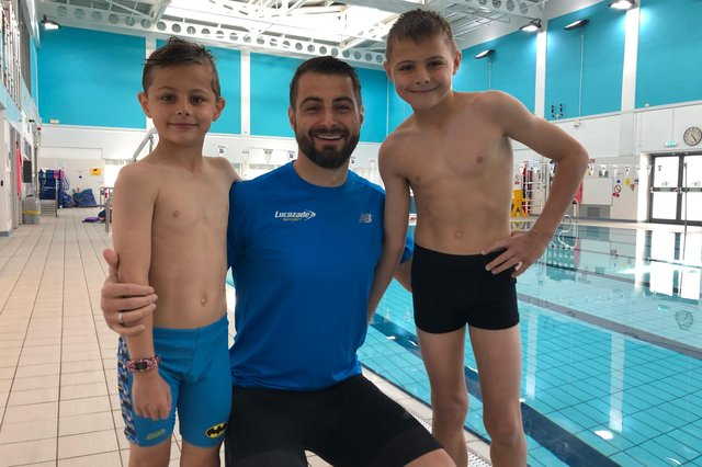 Jonah, Rich and Ethan Gilham