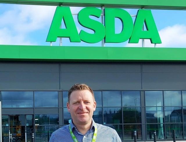 Asda Worksop store manager Craig Loveday