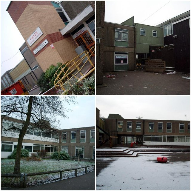 The old Valley Comprehenshive School in Worksop. What memories do these pictures bring back?