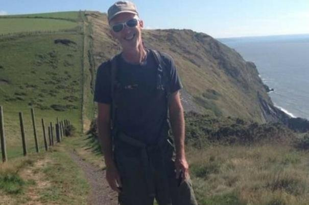 Cyclist Neil Wainwright was seriously injured in a 'hit and run' on Sunday.