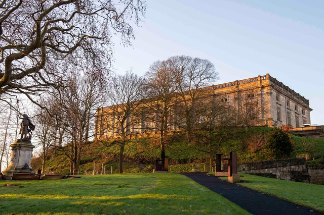 Nottingham Castle re-opens to the public today. Photo: Tracey Whitefoot