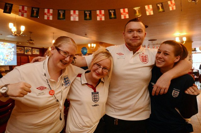 Pictured from left is Laura Jepsom, Sarah Baxter, Dan Witts and Charlotte Sylvester  (w120612-10h)