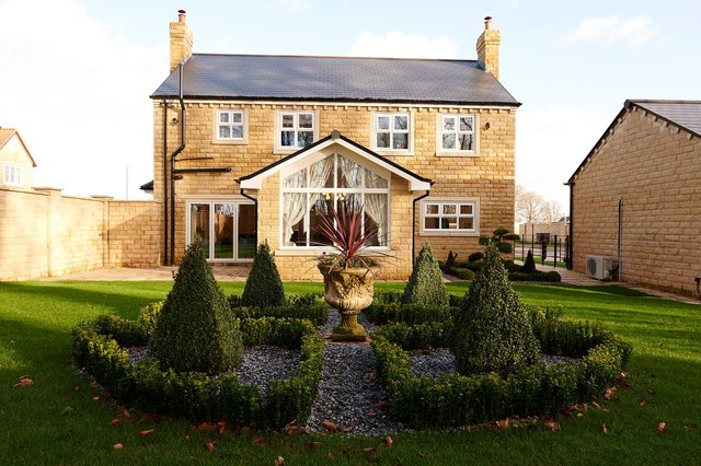 The five-bedroom, detached Knightsbridge II is one of a number of properties being built by Jones Homes at the new Van Dyk Village, between Barlborough and Whitwell Common.